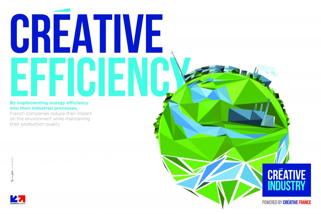 Visuel issu de la campagne « Créative Industry »
